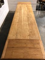 Long French Farmhouse Table with Extensions (21 of 24)