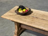 Great Rustic French Bleached Oak Coffee Table (5 of 25)