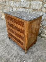 French 19th Century Marble Top Chest of Drawers (3 of 5)