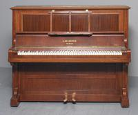 Mahogany Upright Piano by Bechstein, Berlin (7 of 14)