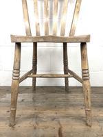 Set of Four Antique Farmhouse Kitchen Chairs (7 of 14)