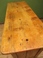 Victorian Rustic Antique Pine Sideboard Kitchen Unit (14 of 22)