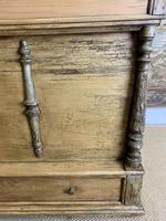 Fabulous 19th Century Pine Trunk with Carved Decoration (6 of 6)