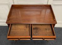 Victorian 2 Drawer Writing Table or Desk (15 of 16)