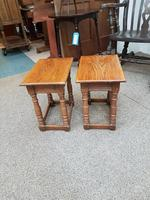 Pair of Country Stools (4 of 5)