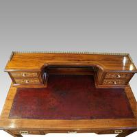 Edwardian Inlaid Rosewood Desk (11 of 11)