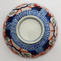 Late 19th Century Japanese Imari Small Scalloped Bowl (6 of 6)