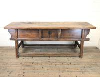 Unusual Oriental Elm Altar Table Sideboard (3 of 18)