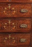 Marquetry Inlaid Rosewood Tallboy (6 of 12)