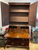 George I Walnut Bureau Bookcase (2 of 9)