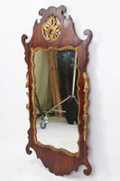 Georgian Mahogany Chippendale Fretwork Mirror (4 of 13)