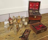 Apothecary Case. Early 19thC. Doctors Medical Chemical Chest. (7 of 8)