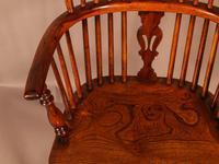 Good High Back Windsor Chair c.1840 (9 of 11)