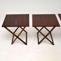 Vintage Danish Rosewood Illums Bolighus Nesting Tables (6 of 16)