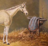 Beverley, Oil Painting of a Horse by William Eddowes Turner (6 of 7)