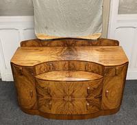 Burr Walnut Art Deco Dressing Table (3 of 14)