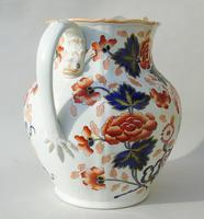 Antique Very Large Staffordshire Stone China Jug (11 of 12)