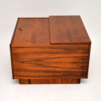 1960's Swedish Rosewood  Drinks Cabinet / Coffee Table (3 of 13)