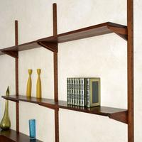 1960's Vintage Danish Rosewood PS Shelving System (8 of 13)