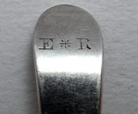 Antique George III 1798 Solid Sterling Silver Tea/  Coffee Spoon, 18th Century English Hallmarked (4 of 5)