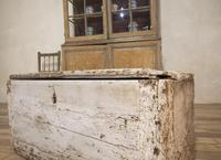 19th Century Rustic Painted Country House Trunk - Coffee Table (15 of 16)
