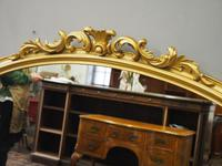 Victorian Giltwood Overmantel Mirror by John Taylor & Son (9 of 13)