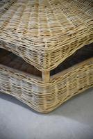 Large Natural Wicker Coffee Table (9 of 12)