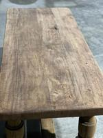Rustic French Oak Farmhouse Kitchen Dining Table (13 of 16)
