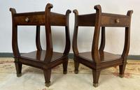 Vintage French Mahogany Bedside Tables (7 of 14)