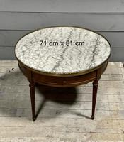 French Marble Top Coffee or Lamp Table (2 of 17)