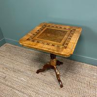 Stunning Victorian Walnut Antique Sorrento Table (8 of 8)