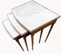 Nest of Three Mahogany Tables (4 of 5)