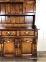 Large 20th Century Georgian Style Oak Dresser (3 of 23)