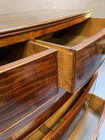 George III Bow Chest of Drawers (12 of 14)