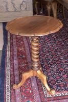 Mahogany Wine / Lamp Table