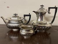 Edwardian William Aitken Solid Silver Tea & Coffee Set Birmingham 1903 (3 of 14)
