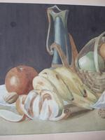 Dorothy Cottam Watercolour Still-life with Art Nouveau Jug (4 of 5)