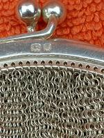 Antique Sterling Silver Hallmarked Art Deco Chain Mail Bag Purse 1923 London A M & M Ltd (5 of 12)