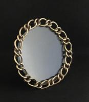 Victorian Brass Chain Link Easel Photo Frame (4 of 4)
