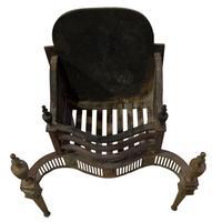 Brass George III Style Fire Basket c.1900 (3 of 5)