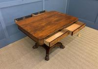 William IV Rosewood Library Centre Table (7 of 18)