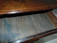 Georgian Elm Pad Foot Side Table (3 of 7)