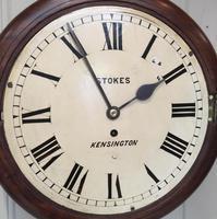 Mahogany Fusee Dial Clock (7 of 19)