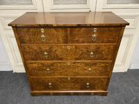 Superb Quality Walnut Chest of Drawers (3 of 18)