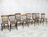8 x 19th Century Windsor Kitchen Chairs (9 of 9)