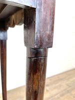 Small 18th Century Antique Oak Side Table (10 of 10)