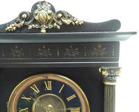 Amazing French Slate 8 Day Striking Heavy Quality Mantle Clock (3 of 12)