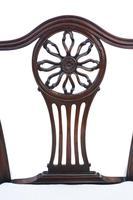 Set of 8 (6+2) Georgian Mahogany Dining Chairs c.1820 (7 of 10)