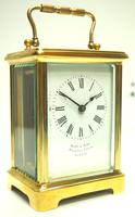Fine Antique French 8-day Carriage Clock Timepiece by Drew & Sons London (11 of 11)
