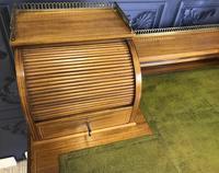 Victorian Inlaid Mahogany Writing Desk (18 of 20)